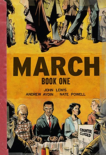March: Book One by [John Lewis, Andrew Aydin, Nate Powell]