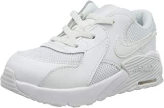 Nike Unisex Baby Air Max Excee (TD) Sneakers, wit/wit-wit, 25 EU