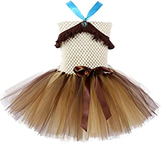 Tutu Dreams Native American Indian Princess Costume for Girls Birthday Halloween Party