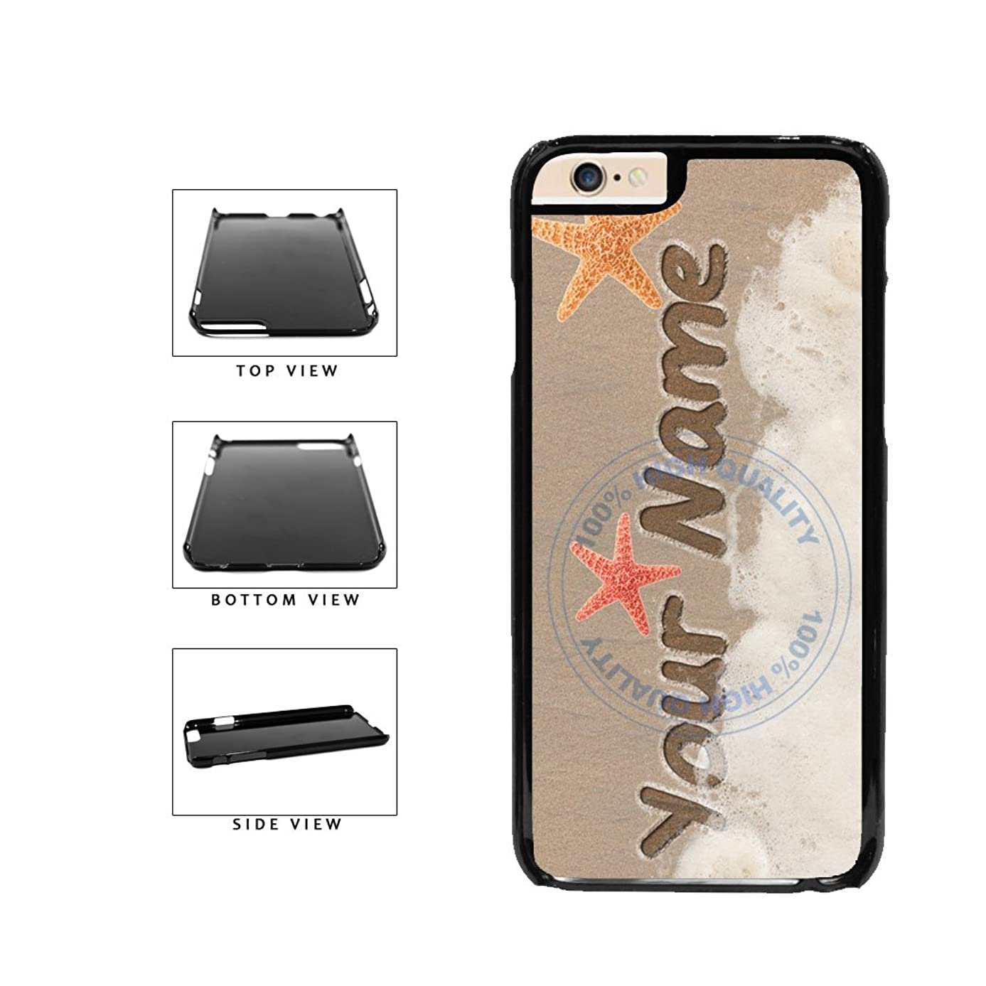 BleuReign(TM) Personalized Custom Name In Sand Design Plastic Phone Case Back Cover For Apple iPhone 6 Plus and iPhone 6s Plus (5.5 Inches Screen)