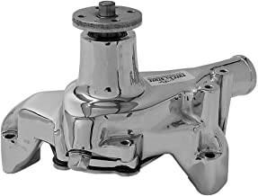 Tuff Stuff 1449NB Chrome Long Super Cool Water Pump for Small Block Chevy