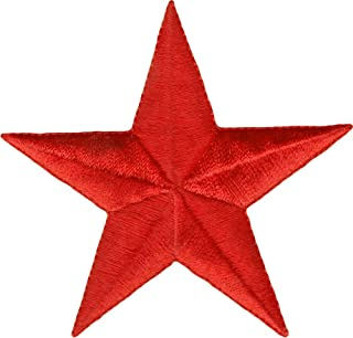 Square Deal Recordings & Supplies Solid Red Star - 3