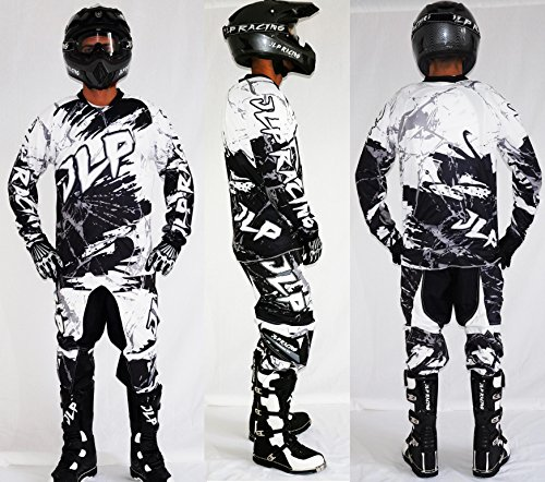 Traje Niño 7/8Años Moto Cross Quad Montaña BMX MTB Pantalón Guantes Maillot...