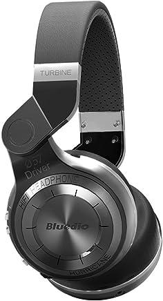 Bluedio T2 Turbine Bluetooth Wireless Stereo Rotary Headphones with Mic, 57mm Drivers(Black)