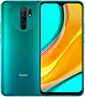 هاتف ريدمي 9 ثنائي شرائح الاتصال - 32 جيجا، ذاكرة رام 3 جيجا، الجيل الرابع ال تي اي، اخضر