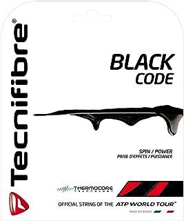 Tecnifibre Black Code Tennis String Set (16 gauge, 1.28)