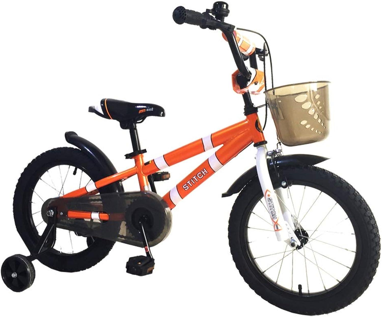 nuevo estilo Kids'Bikes Lijianfeng Bicicletas para Niños Bicicletas de Moda Color Color Color Naranja Bicicletas de 14 para Bicicletas de 16  para niñas Bicicletas para Niños Los Mejores Regalos para Niños  Obtén lo ultimo