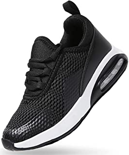 Boys Girls Sneakers Lightweight Breathable Air Athletic Running Shoes Fashion Sport Gym Jogging Tennis Walking Shoes