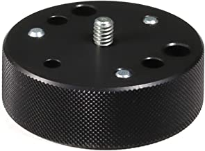 Manfrotto 120 Converter Plate Converts Tripod Head screws from 3/8-Inch to 1/4-Inch - Replaces 3054
