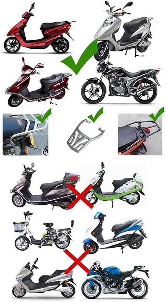 f/ür Roller Top caseuniversal Mofa /& Quad ZZXY Topcase Motorradkoffer passend f/ür 2 Helme Motorrad