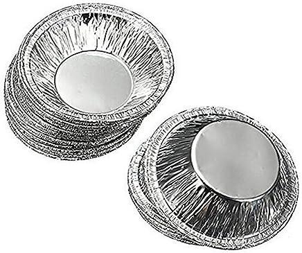 50 Stücke Einweg Aluminiumfolie Tassen Backen Muffin Cupcake Zinn Form Runde Ei Tart Dosen Form Form preisvergleich bei geschirr-verleih.eu
