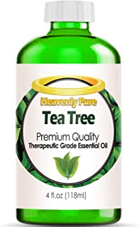 Tea Tree Essential Oil - Huge 4 OZ Bulk Size - 100% Pure Therapeutic Grade - Tea Tree Oil is Great for Aromatherapy, Acne, Hair Nourishment, Sinus & Allergies, More!