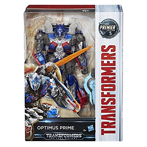 Hasbro Transformers C1334ES0 - Movie 5 Premier Voyager Optimus Prime, Actionfigur