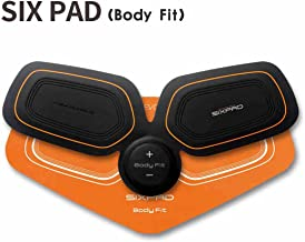 Sixpad Japanese MTG (M Tea Gee) Training Gear/Body Fit Tr - for Waist|arm|Thigh - Get You Ripped Without Even Lifting a Finger by Providing Electric Shocks to Your Muscles - Black