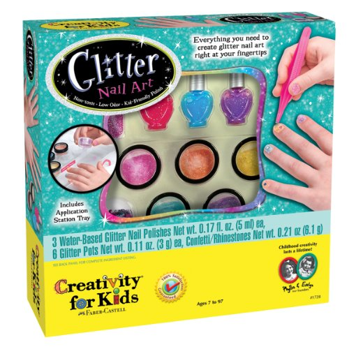Creativity for Kids Glitter Nail Art -...