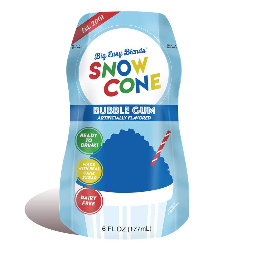 Ranking TOP7 Snow Cone 6 fl oz Bubble Pouches Gum Count Columbus Mall 12