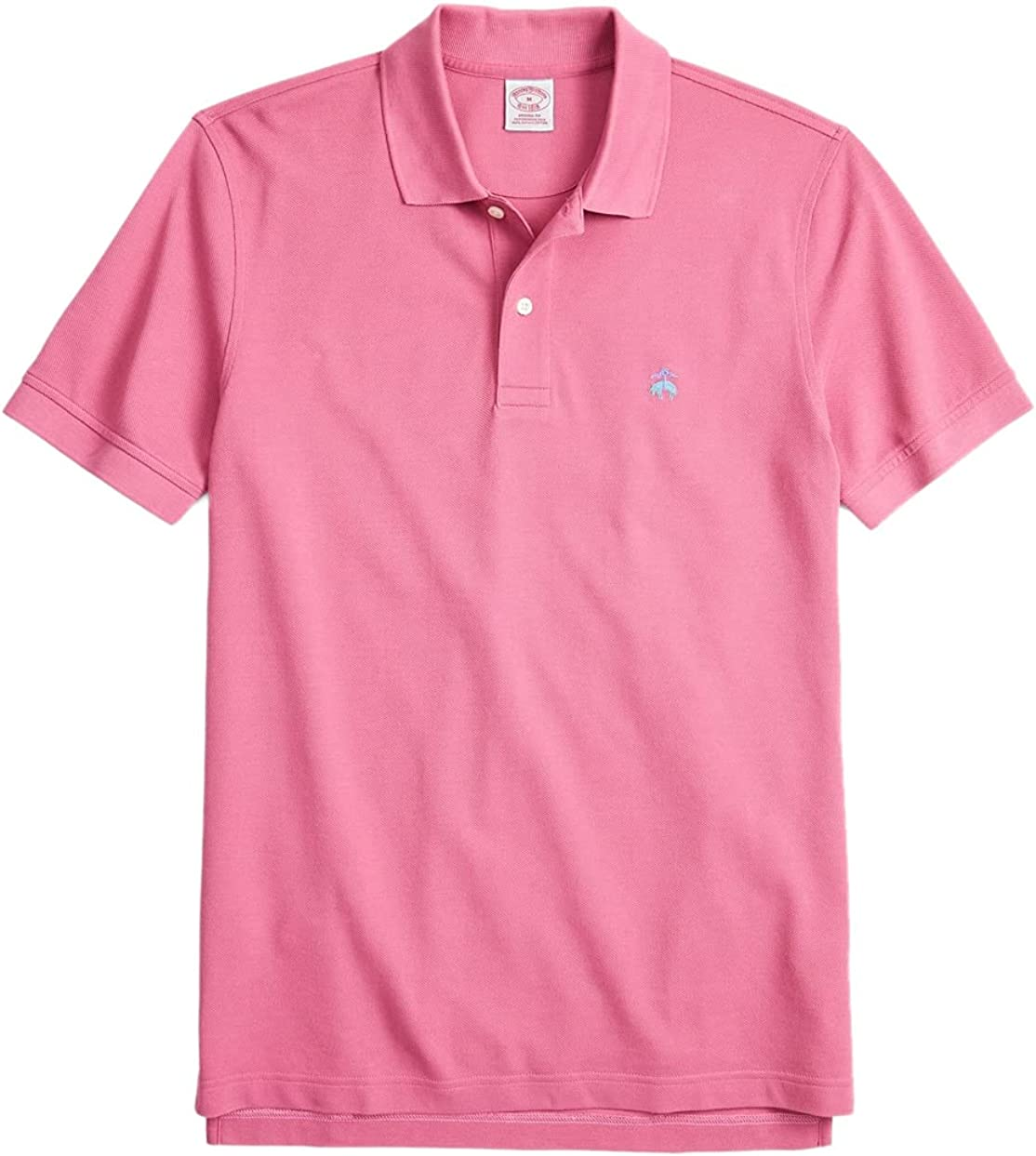 Brooks Brothers Men's Original Fit Supima Cotton Multi Embroidered Performance Polo Shirt
