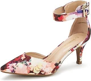 Women's Lowpointed Low Heel Dress Pump Shoes