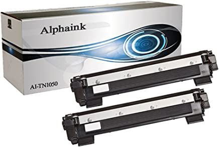 Alphaink AI-KIT2-TN-1050 Kit 2 Toner compatibili per Brother HL1110, HL1112A, HL1210, DCP1510, DCP1512, DCP1512A, DCP1610, DCP1612, MFC1810, MFC1815, MFC1910, MFC1910W, 1.000 pagine
