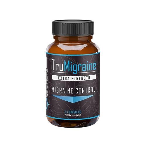 d8dc17d1b9708 TruMigraine - Migraine Headache Prevention   Control Supplement