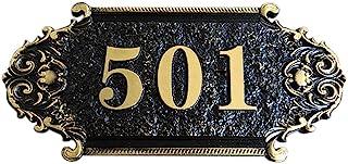 Huisnummerbord gepersonaliseerde huisnummer stickers deurplaat deurnummer leisteen naar wens weerbestendig huisnummerbord ...