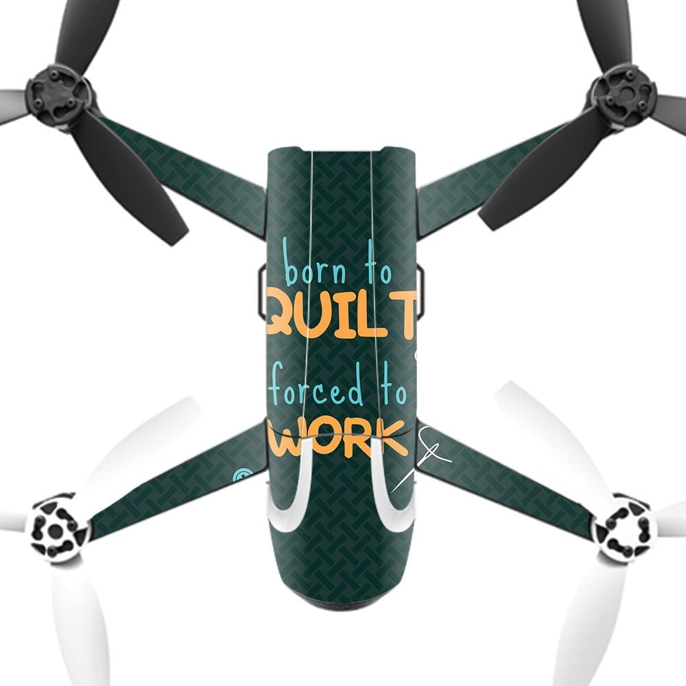 New item Direct store MightySkins Skin Compatible with Parrot Bebop to Quilt 2 – Born