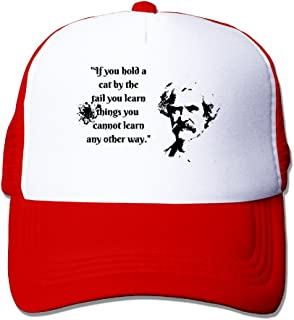 Mark Twain Witticism2 Slim Fit Hats Adjustable For Guns