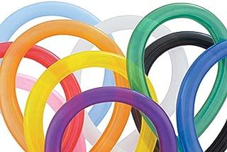 Qualatex 160Q Traditional Assortment, Biodegradable Latex Balloons, 100 Count per pack (1-Pack)