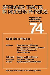 Solid-State Physics: Ergebnisse der exakten Naturwissenschaften