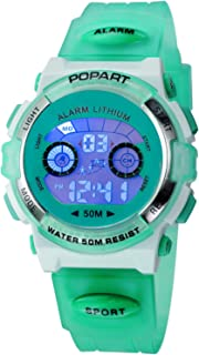 Kid Watch LED Sport 30M Waterproof Multi Function Digital...