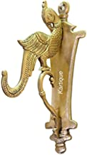 Indian Handicrafts Export Brass Parrot Bracket Hook for Hanging Diya | Bell | Wall Hanging | Cloth Hanger Traditonal Parrot Design Diya Holder | Home Decor |