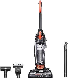 Eureka Power Speed NEU188A PowerSpeed Turbo Spotlight Lightweight Upright Vacuum Cleaner for Carpet and Hard Floor, Orange (Renewed)