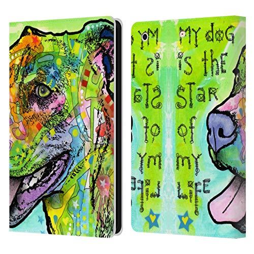 Head Case Designs Oficial Dean Russo La Estrella de mi Vida Perros 6 Carcasa de Cuero Tipo Libro Compatible con Apple iPad Mini 1 / Mini 2 / Mini 3