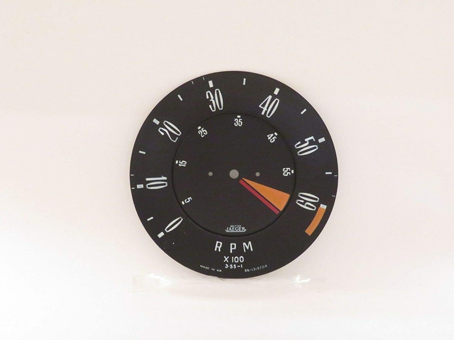 EPC Tachometer Charlotte Mall Dial Max 83% OFF Face Plate Triumph Jaeger Spitfire Fits New
