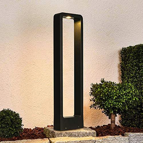 LEDMO Wegeleuchten Aussen LED 12W Aussenleuchte Stehlampe Außen 3000K Pollerleuchte 60CM IP65,LED Gartenlampe Geeignet.