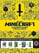 Minecraft - Le coffret expert spécial survie - Livre officiel Mojang - De 9 à 13 ans