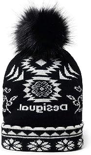 Desigual Hat_Ethnic Reversible Turbantes, Black, U para Mujer