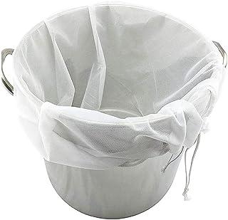 Santo Reusable Mesh Filter Bag Multiple Usage Food Grade Mesh Bag for Coffee, Juice, Tea, Nut Milk, Cold Brew Coffee Filte...