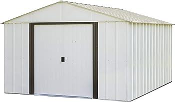 Arlington 10 ft. W x 12 ft. D Metal Storage Shed