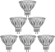 BAOMING MR16 LED Bulb Bi Pin 12V Spotlight Gu5.3 Base 7W 560lm 70W Halogen Light Equivalent Warm White 2700K-3000K Die-cas...