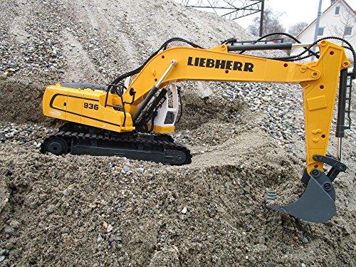 RC Auto kaufen Baufahrzeug Bild 5: RC Bagger Liebherr R936 1:20 2,4G Destruction-Set Ferngesteuertes