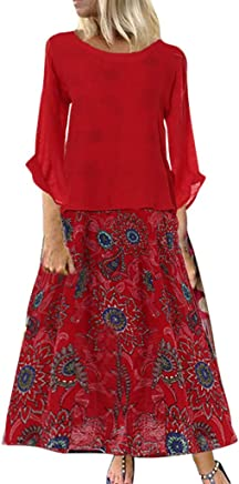 JFLYOU Fashion Women Plus Size Solid O-Neck Short Sleeve Chiffon Swing Asymmetrical Dress