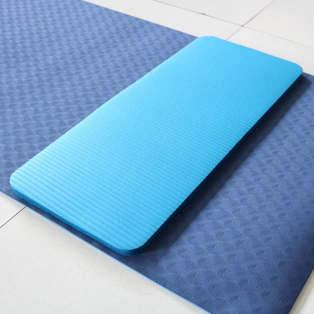 Keepart Mini antideslizante NBR Yoga Auxiliar Pad Sport Mat Gimnasio Pilates Esterillas Plegable Almohadillas