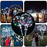 OHQ Led Illuminer Lanterne Ballon Tube De Ceinture Mariage Rond Lumineux Partie DéCoration Bulle...