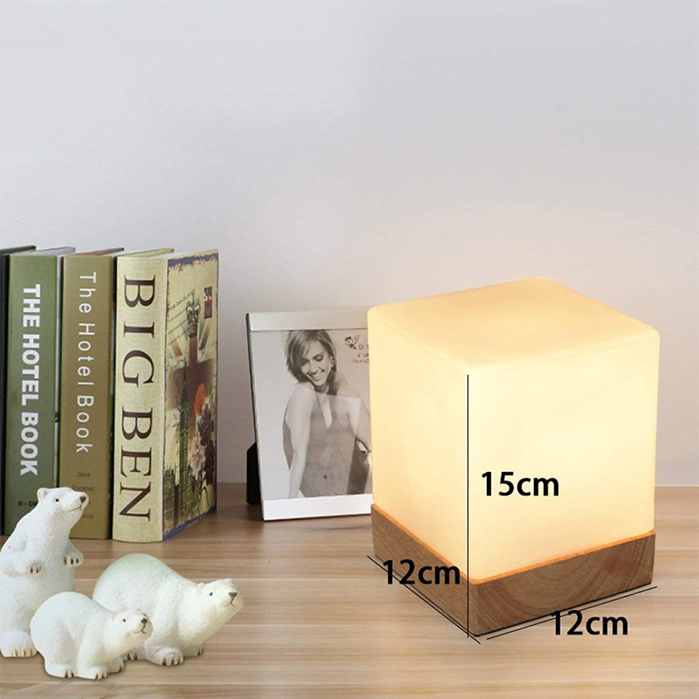 AOLI Tischlampe Nordic Kreative Holz Lampe American American American Minimalist Glas Lampe Schlafzimmer Schlafzimmer Nachttischlampe Massivholz Tischleuchten B07JD38Y14 | New Listing  0ad726