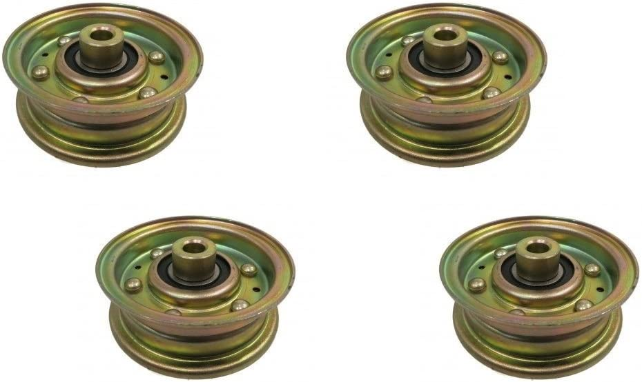 The ROP Shop 4 Miami Mall Idler Pulleys Cub Cheap super special price for Cadet Troy-Bilt 756-0 MTD