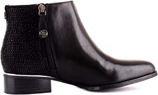 Guess Luxury Fashion Womens FL7VEELEA10BLACK Black Ankle Boots   Fall Winter 19