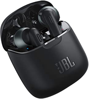 JBL Tune 220TWS, True Wireless Bluetooth Earbuds with Mic, 19 Hours Total Battery Life, Hands Free Calling, Speed Charging...