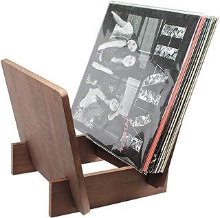 """FACAIA Unidad de exhibición de 12""""LPs o 7"""" Singles, Soporte de Registro LP acrílico para Oficina en casa - Soporte de exhi..."""