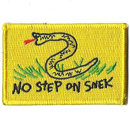 2' x 3' No Step on Snek Meme - Tactical Morale Patch